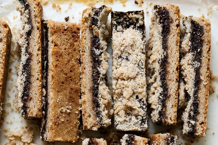 Whole Wheat Fig Shortbread Bars